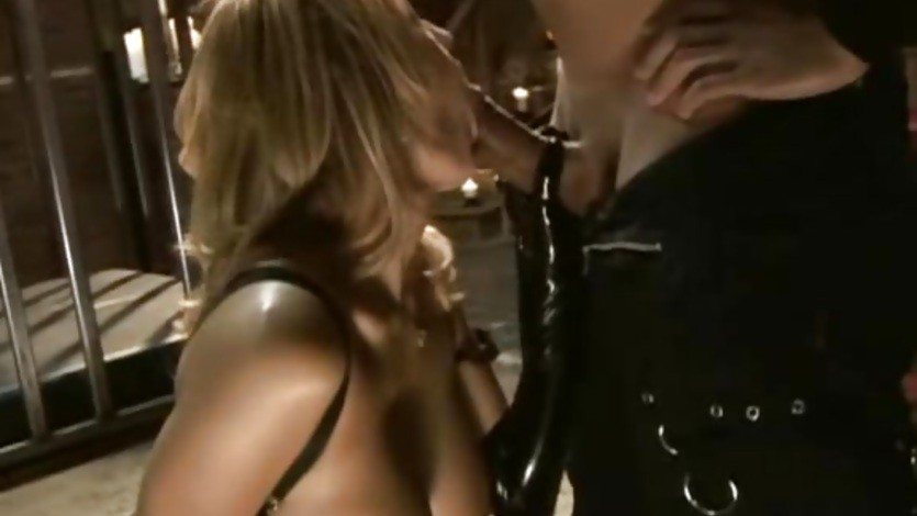 Trina Michaels gets introduced to the deep throat by a long dick