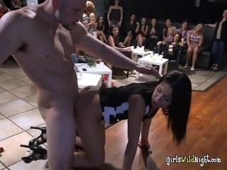 Cheating Wive gets fucked by stripper at bachelorette party 8