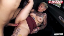 Bums Bus – Big Ass Tattooed Chick Pick Up Ride Big Cock – LETSDOEIT