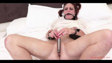 Miss Kitty Bound Fetish Play Full Video