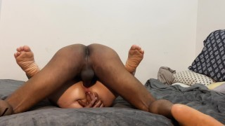 """Crazy Hot Interracial Sex With My HOT Midget Fuck Toy !!!  """"Oooozing CREAMPIE ENDING"""" ( MUST SEE!! )"""