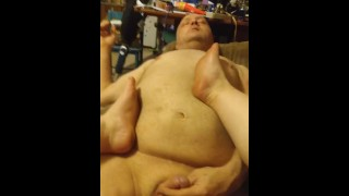 BBW angrily dominates amputee with her feet
