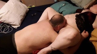Caught my bbw lesbian lover with her amputee lover