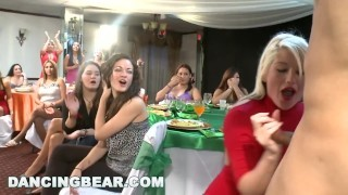 DANCING BEAR – Crazy Party Girls Get Fucked By Male Strippers